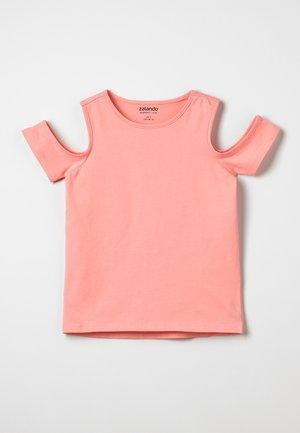 Basic T-shirt - peach amber