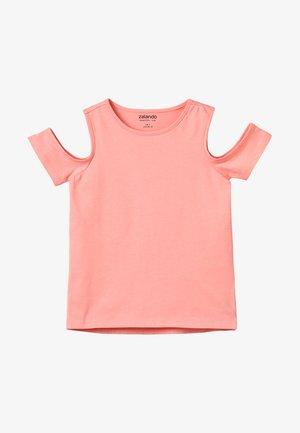 T-shirts basic - peach amber