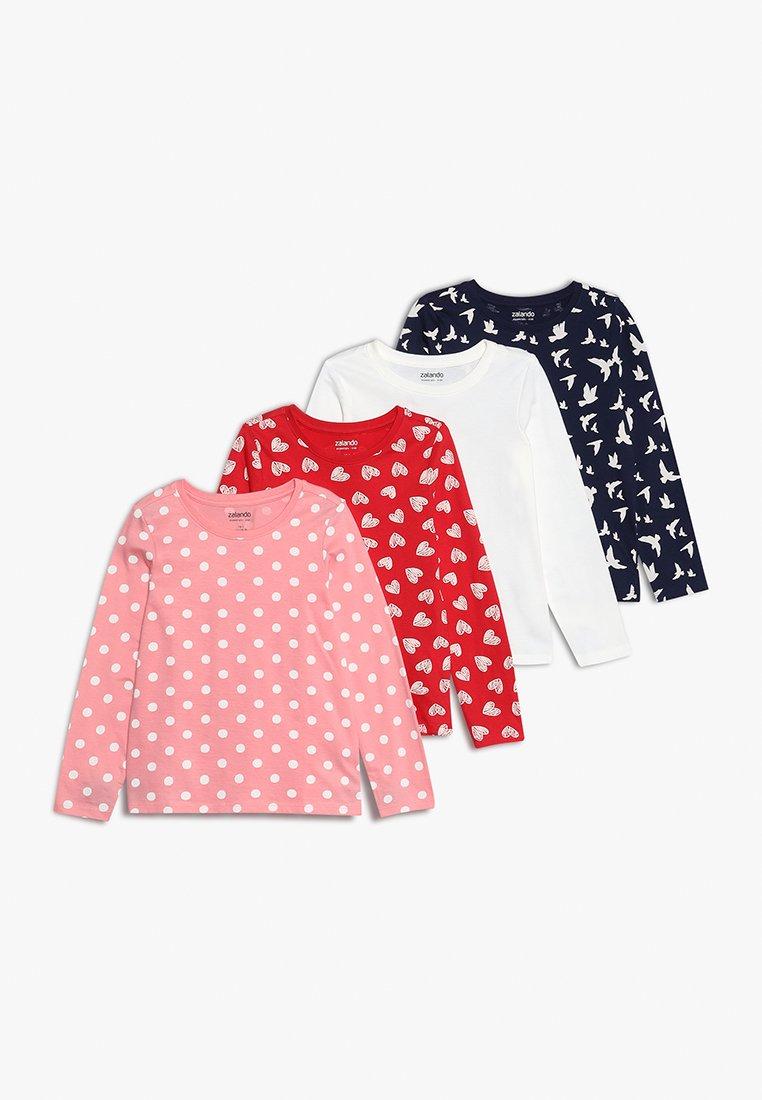 Zalando Essentials Kids - 4 PACK  - Pitkähihainen paita - peacoat