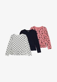 Zalando Essentials Kids - 3 PACK - Långärmad tröja - white winter/peacoat - 4