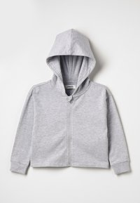 Zalando Essentials Kids - Hoodie met rits - mottled light grey - 0