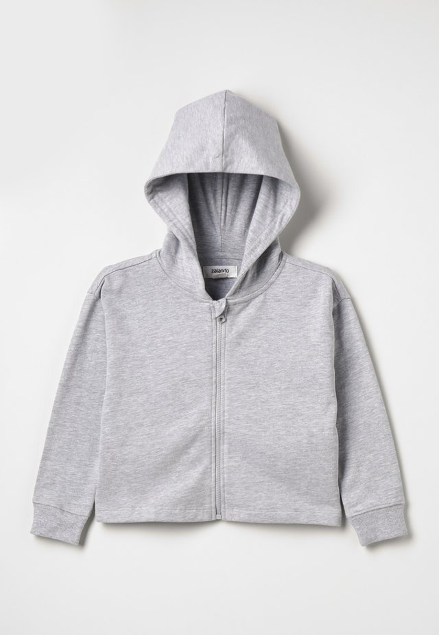 Sweatjacke - mottled light grey