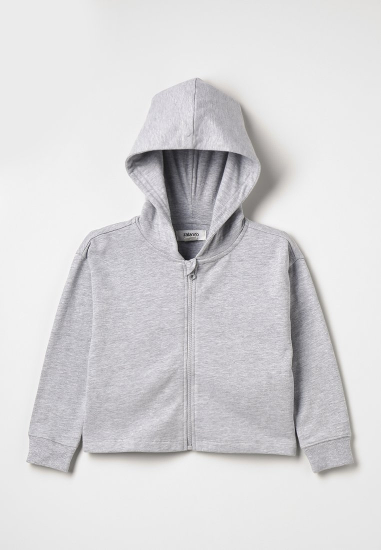 Zalando Essentials Kids - Hoodie met rits - mottled light grey