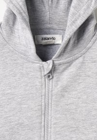 Zalando Essentials Kids - Hoodie met rits - mottled light grey - 4