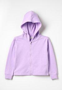 Zalando Essentials Kids - veste en sweat zippée - lavendula - 0