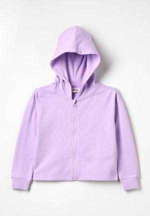 Zip-up hoodie - lavendula