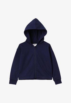 veste en sweat zippée - peacoat