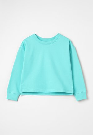 Sweater - turquoise