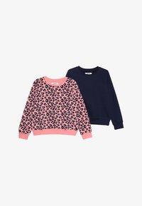 Zalando Essentials Kids - 2 PACK  - Sudadera - peacoat/pink - 3