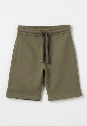 Teplákové kalhoty - burnt olive