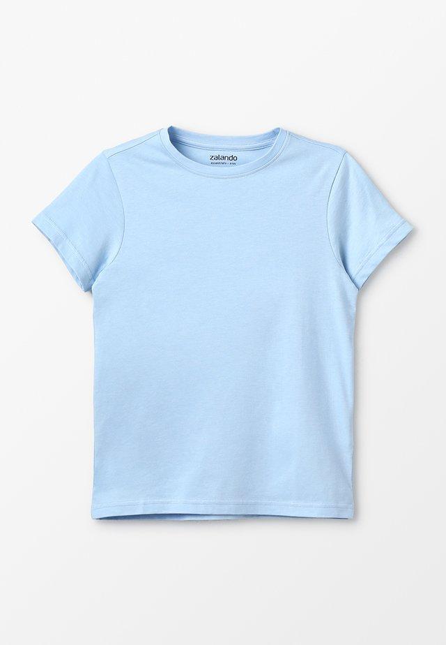 T-Shirt print - chambray blue