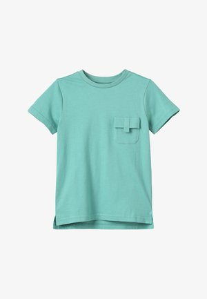T-shirt - bas - turquoise