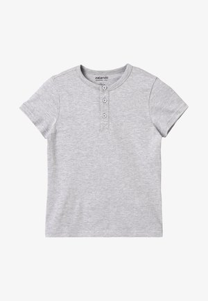 T-shirts basic - light grey melange