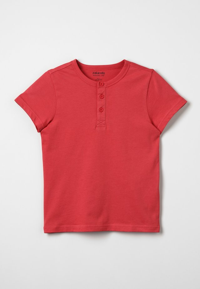 Basic T-shirt - red/pink