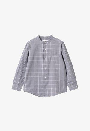 Košile - black/light grey melange