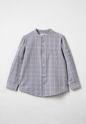 Shirt - black/light grey melange