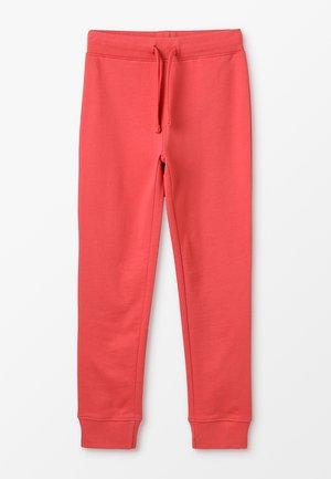 Spodnie treningowe - cranberry