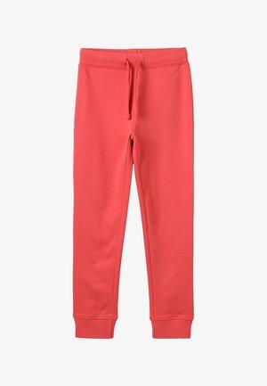 Teplákové kalhoty - cranberry