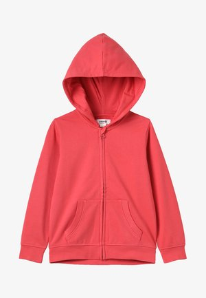 Zip-up hoodie - cranberry