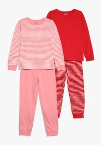 Zalando Essentials Kids - 2 PACK - Pyžamová sada - pink/red - 0
