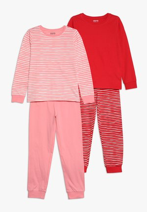 2 PACK - Pyjama set - pink/red