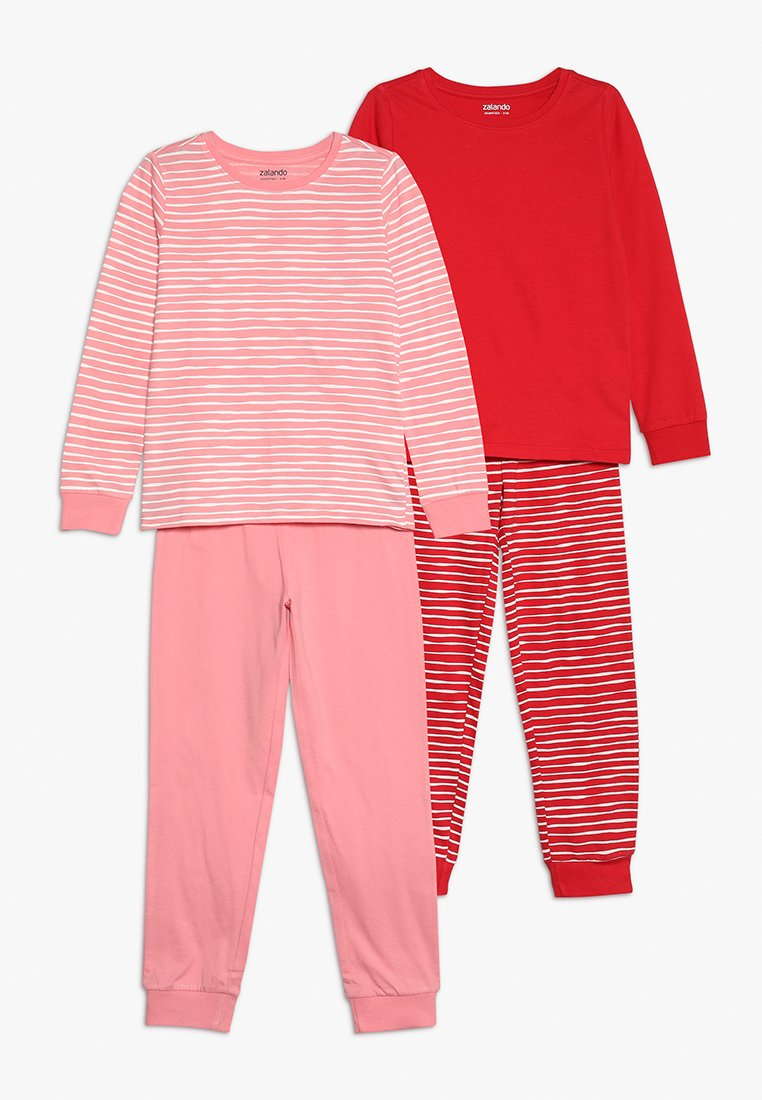 Zalando Essentials Kids - 2 PACK - Pyžamová sada - pink/red
