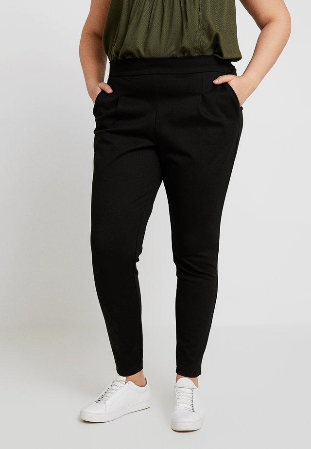 MAGGIE CROPPED PANT - Leggingsit - black