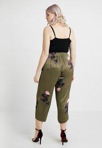 ZAY - YMALINA LONG PANT - Kangashousut - ivy green - 2