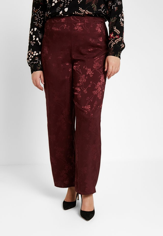 WIDE PANT - Stoffhose - port royal