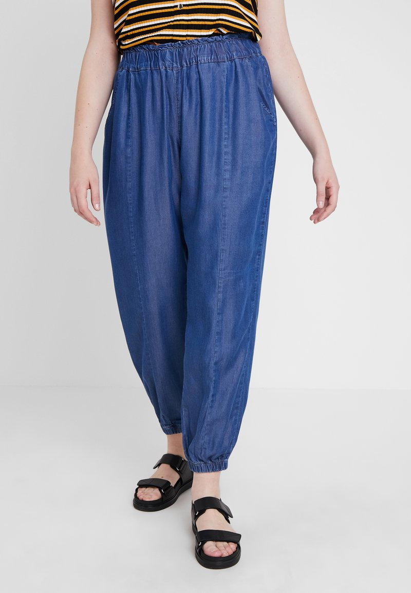 ZAY - YROSITA LONG PANT - Pantalones - blue denim