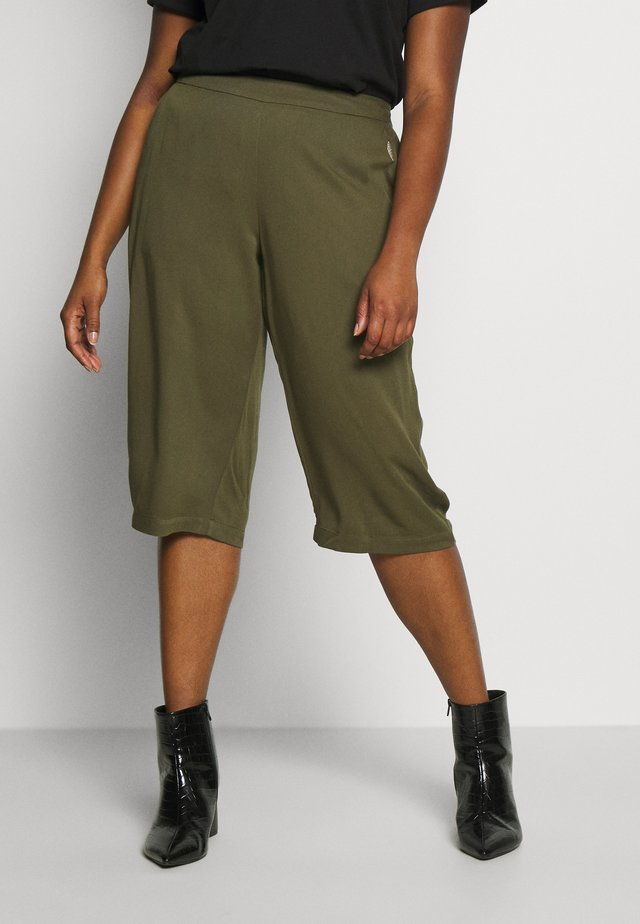 YFIERCE  CULOTTE PANT - Trousers - rifle green