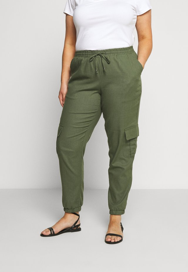 YFILIZ PANT - Stoffhose - ivy green