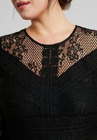 ZAY - YLAVA SLEEVE DRESS - Vestido de cóctel - black - 7