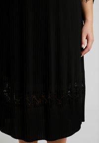 ZAY - YLAVA SLEEVE DRESS - Vestido de cóctel - black - 5