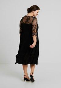 ZAY - YLAVA SLEEVE DRESS - Vestido de cóctel - black - 3