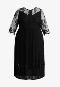 ZAY - YLAVA SLEEVE DRESS - Vestido de cóctel - black - 6