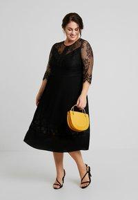ZAY - YLAVA SLEEVE DRESS - Vestido de cóctel - black - 2