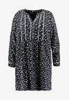 YLAURINE DRESS - Abito a camicia - black