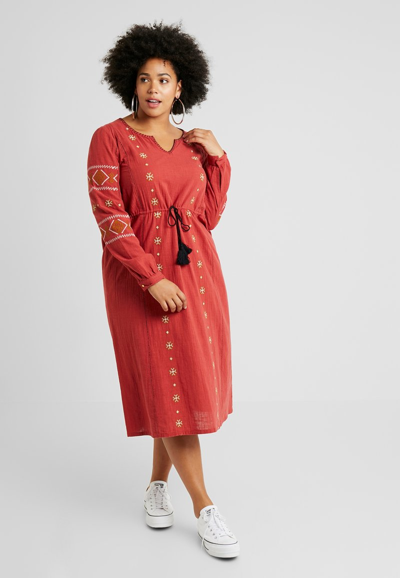 ZAY - YLAVIN DRESS - Vestido informal - red dahlia