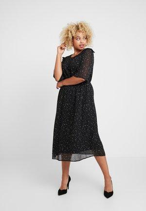 YLADY 1/2 DRESS - Denní šaty - black