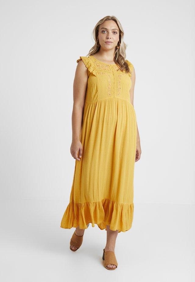 YSARAI DRESS - Vestito lungo - gold