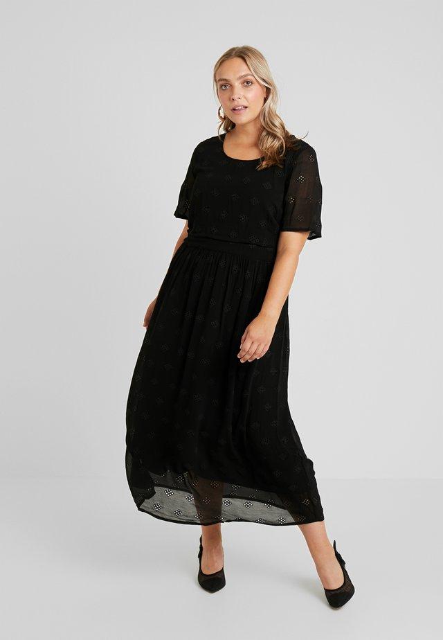 YSANNA DRESS - Maxikleid - black