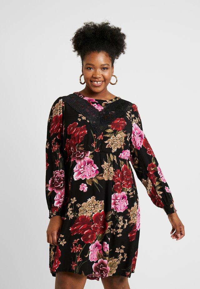 YLARISSA DRESS - Vestito estivo - black