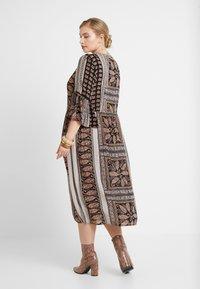 ZAY - YAEL 3/4 DRESS - Vestito estivo - black - 3