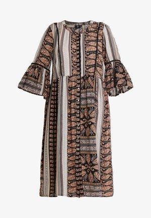 YAEL 3/4 DRESS - Korte jurk - black