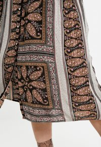ZAY - YAEL 3/4 DRESS - Vestito estivo - black - 6