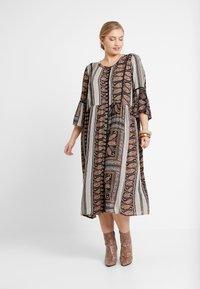 ZAY - YAEL 3/4 DRESS - Vestito estivo - black - 0