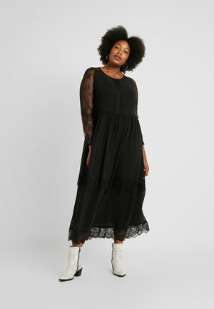 YAMALIE DRESS - Maxikjole - black