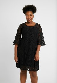 ZAY - YLACE DRESS - Vestito elegante - black - 0