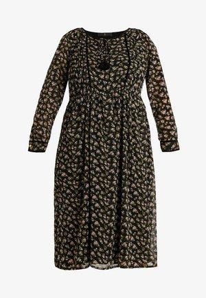 YALFLORA DRESS - Denní šaty - black
